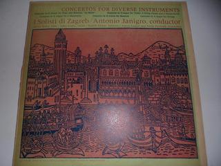 Disco Vinilo Vivaldi Concierto Diversos Instrumentos