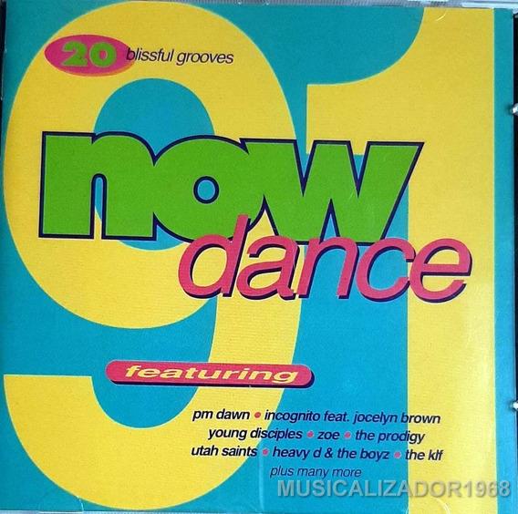 Varios - Now Dance 91 Cd Importado Impecable + Envios