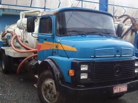 Caminhao Limpa Fossa Mercedes-benz Mb1113 Direção Hidraulica
