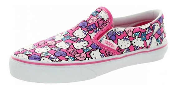 Tenis Vans Hello Kitty Zipnk/trwht