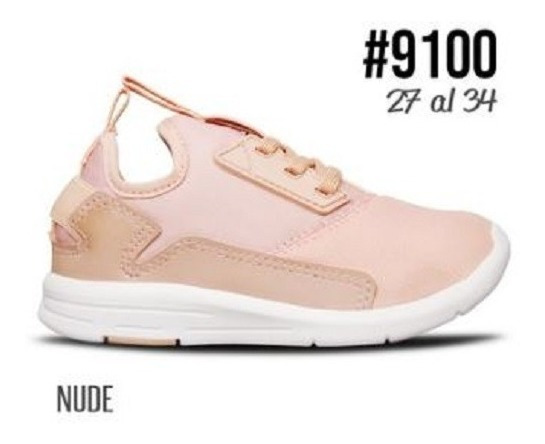 Prowess #9100 - Zapatilla Nude 27/34