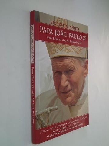 * Papa João Paulo 2º - Biografia Inédita - Livro