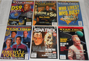Star Trek Communicator Lote Deep Space9 Revistas Importadas