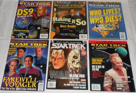 Star Trek Communicator Lote Deep Space9 Revistas Importadas