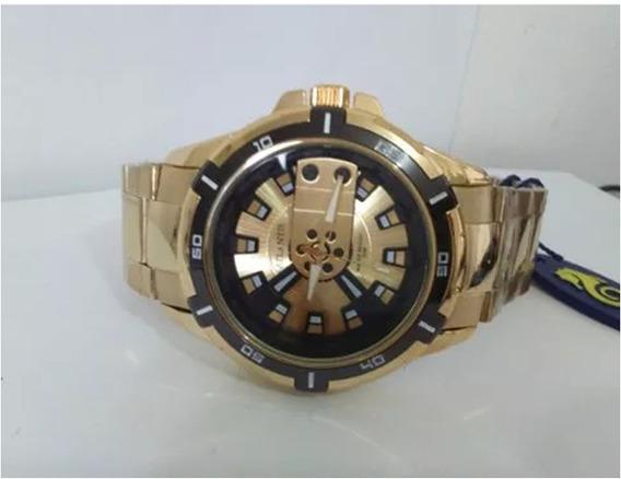 Relógio Masculino De Luxo Em Aço Grande Barato Puro Estilo