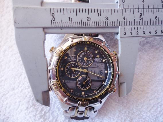 Relógio Citizen Wr100 Pro Master Chronograph Original