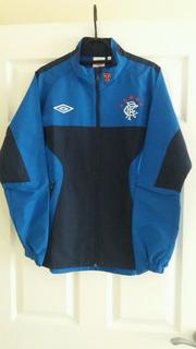 Jaqueta Glasgow Rangers Umbro 2010 Escócia De Chuva M