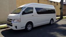 Renta Camionetas Vans 20,14,9 Y 7 Pasaj Hiace,avanza,mercede