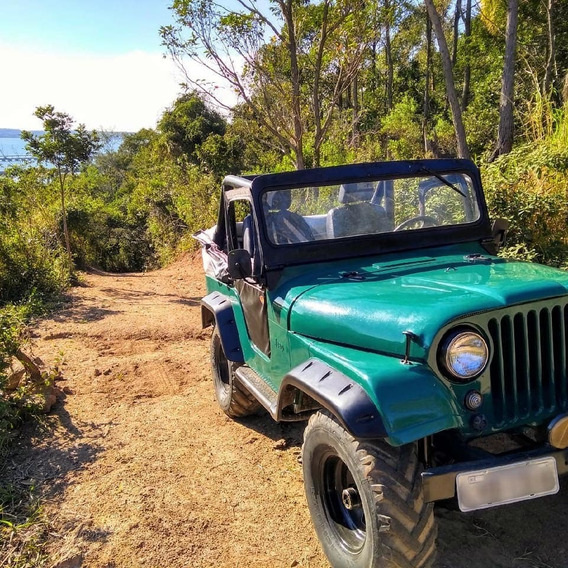 Jeep Willys 1957 Motor Opala 2.5l 4 Cilindros