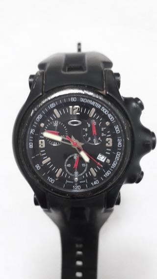 Relógio Oakley Holeshot Preto - Orignal Suiço - Usado