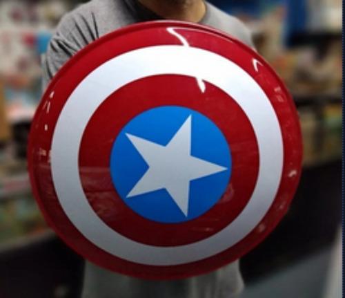 Escudo Capitan America Heroe Avengers Juguete Regalo Niño