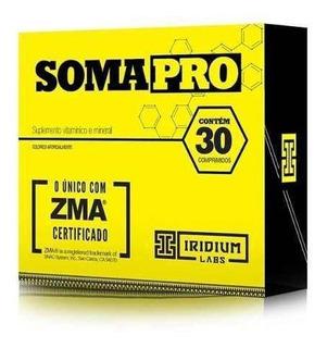 Suplemento Pré Hormonal -soma Pro Zma 30 Caps - Iridium Labs