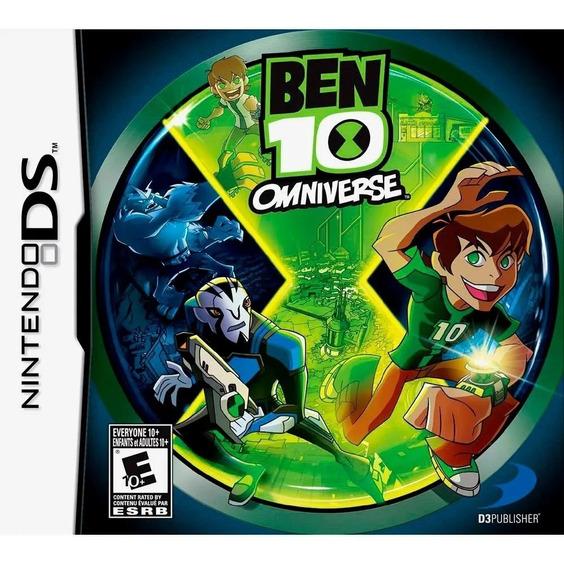 Ben 10 Omniverse Nintendo Ds Novo Lacrado