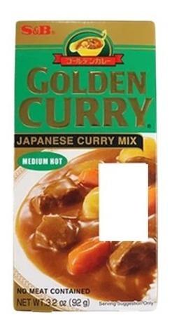 Imagem 1 de 1 de Golden Curry Chukara 92g S&b Japanese Medium Hot
