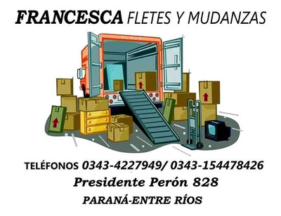 Fletes Mudanzas Parana Santa Fe Rosario Cordoba Buenos Aires