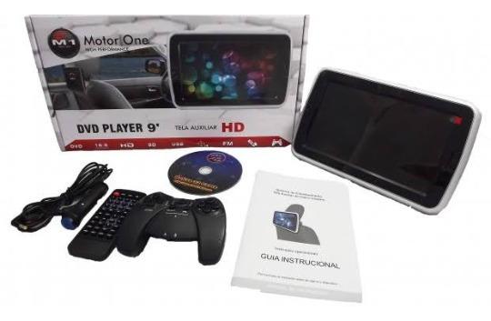 Dvd Player + Acessórios + Fone
