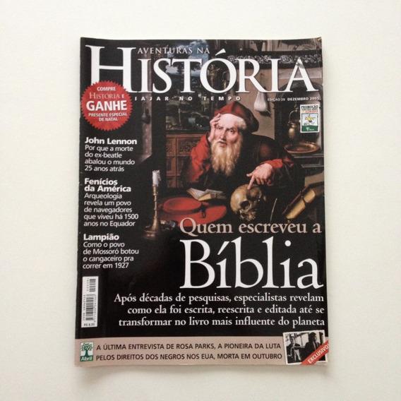 Aventuras Na História Quem Escreveu A Bíblia