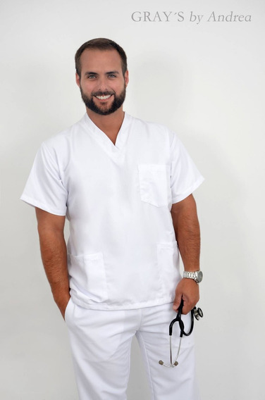 Uniforme Medico, Odontogo, Enfermero Para Caballero