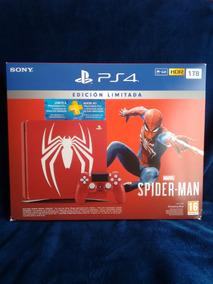 Ps4 Slim 1 Tb Edicion Especial Marvel Spiderman