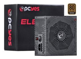 Fonte Gamer Electro 550w Reais 80 Plus Bronze Pfc Ativo I