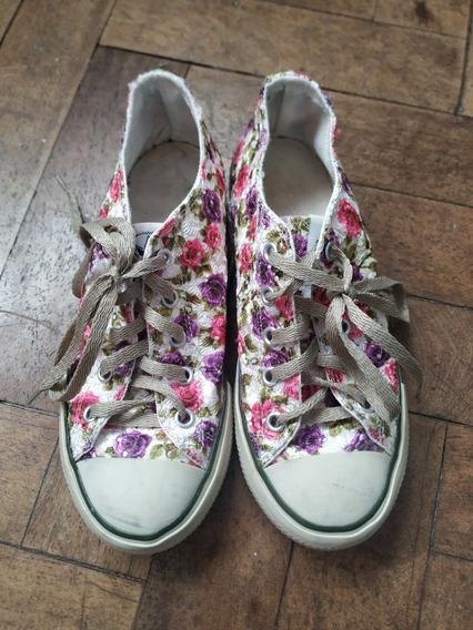 Zapatillas Lona Talle 36