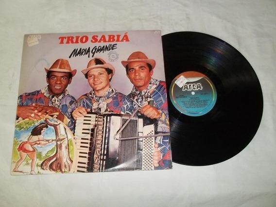 Lp Vinil - Trio Sabiá - Maria Grande