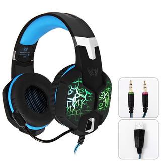 Kotion Función De Vibración Gaming Auricular Auriculares M