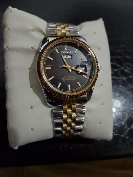 Relógio Chenxi Feminino Prata Luxo Original Aprova D Água