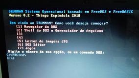 Sistema Operacional Freedos 2018