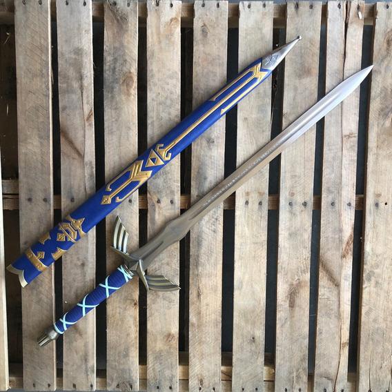 Espada Master Sword De Link Zelda Ocarina Katana Nintendo