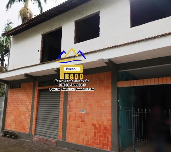 286 Belo Sobrado Com Salão Comercial Próximo A Juquitiba