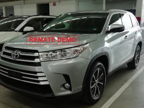 Toyota Highlander Xle 2019 Remate Demo