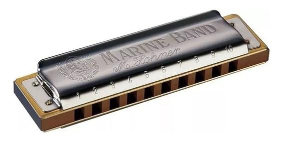Gaita Harmonica Diatônica Hohner Marine Band 1896 F (fá)