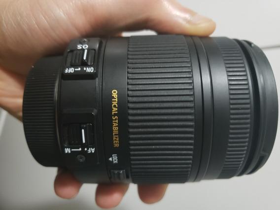 Lente Sigma 18-250mm (para Nikon)