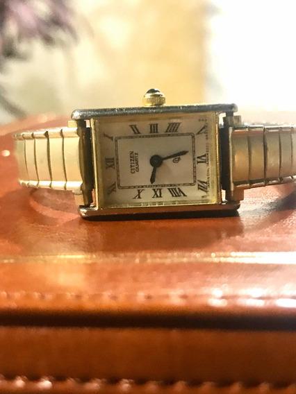 Reloj Citizen Dama Vintage Antiguo Original Funcionando.