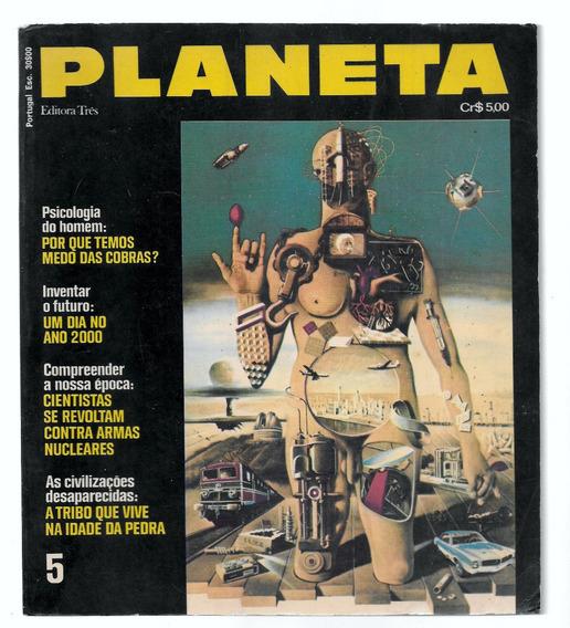 Luc028 Revista Planeta Nº 5 - Editora 3 -janeiro 1973