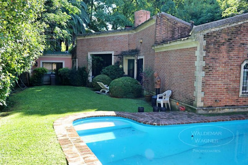 Casa 5 Amb C/ Jardin Y Pileta - Beccar, Libertador Al Rió