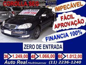 Toyota Corolla Seg Aut 1.8 2006 / Impecável/ Fácil Aprovação