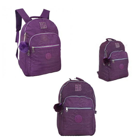 Mochila Para Notebook 15 Rebecca Bonbon Crinkle Color Rb816