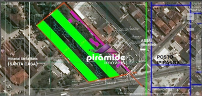 Exclusivo Pirâmide Imóveis: Terreno À Venda, 10.226 M² (total) E 3.257,10 M² De Área Útil, Por R$ 7.500.000 - Centro, Caraguatatuba/sp - Te1006
