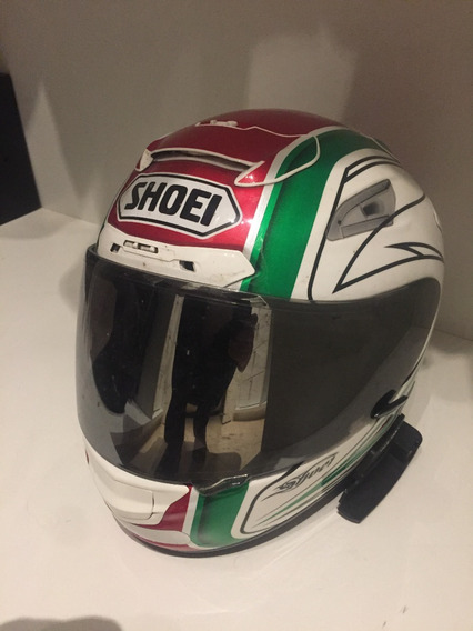 Shoei X-12 Streamliner Tc-4 + Radio Scala Rider G9x