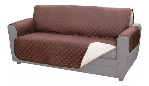 Forro Protector De Sofa Y Muebles Perros Mascotas 2 Puestos