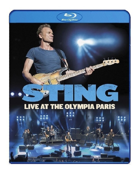 Sting - Live At The Olympia Paris [ Blu-ray ] Pronta Entrega