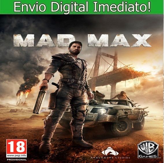 Mad Max Pc Hd Envio Imediato.