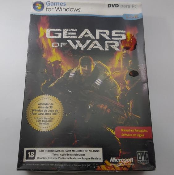 Gears Of War 1 2007 P/ Pc Lacrado Novo Mídia Física