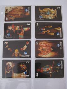 Cartões Telefônicos - Série Completa Museu Do Folclore