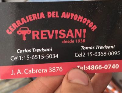 Cerrajeria Del Auto Trevisani En Palermo