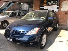 Nissan Murano Sl Ee Aa Piel Qc 2wd At 2006