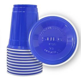 50 Blue Cup Original Copo Azul Americano Importado 400ml
