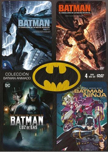 Imagen 1 de 2 de Dvd - Coleccion Batman Animado - 4 Discos